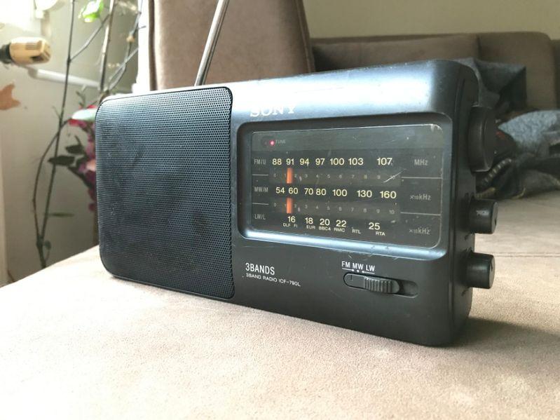 Sony ICF-790l радио гр. Русе - image 1