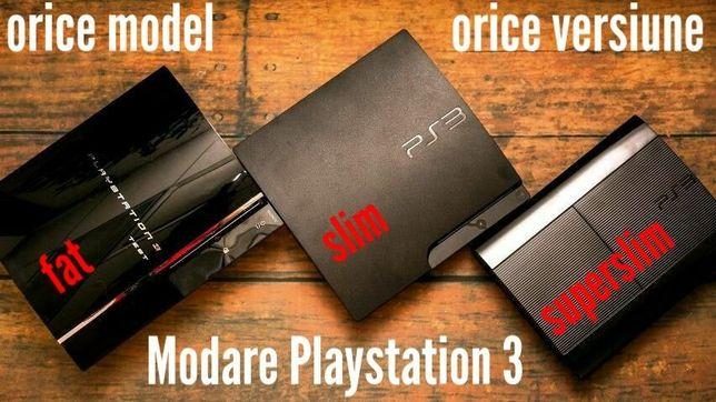 Modare decodare modari modez Playstation 3 PS3 inclusiv firmware 4.88