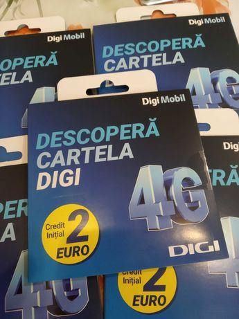077d.992.449 cartele Digi.Mobil, SIM-uri numere deosebite GOLD