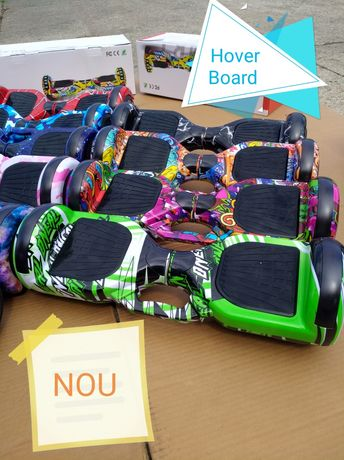 Hoverboard Nou cu maner de transport