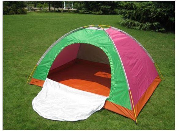 НОВА Палатка за четирима човека - еднослойна на промоция