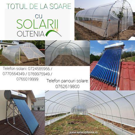 Solarii, panouri solare, TOTUL DE LA SOARE cu Solarii Oltenia