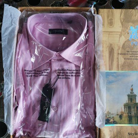Мужская  рубашка  в  упаковке