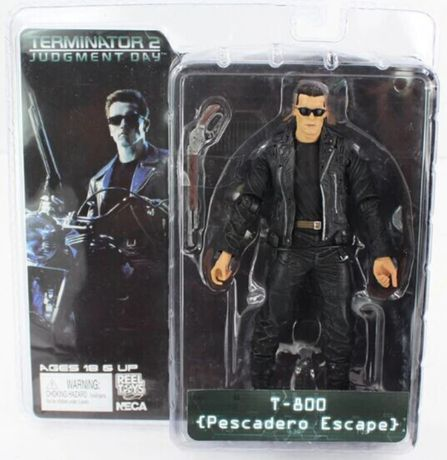 Figurina Terminator Arnold Schwarzenegger T-800 18 cm Pescadero