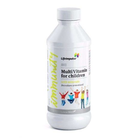 Life Impulse cu vitamine BIO pentru copii - Dezvoltare armonioasa