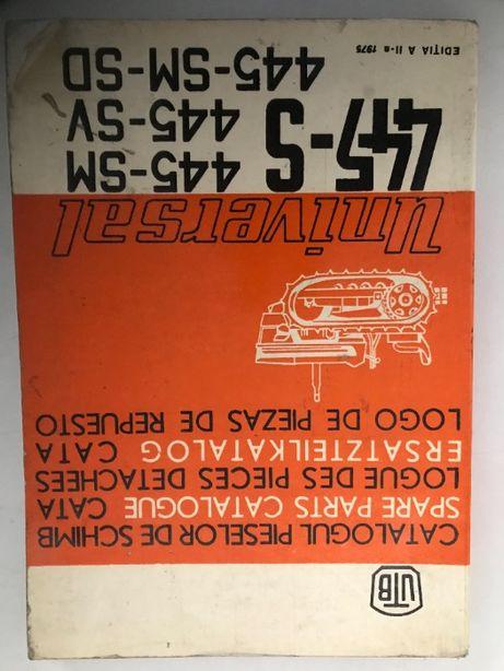 catalog piese schimb tractor UTB 445 S