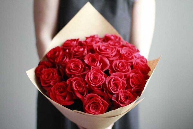 Розы | Букеты | Букеты из роз | Коробки из роз | Доставка цветов | 35