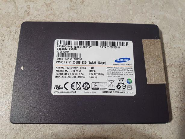 Vand SSD Laptop Samsung  PM851 MZ7TE256HMHP 256GB SATA