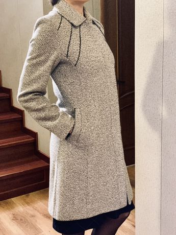 Пальто демисезонное утеплённое женское