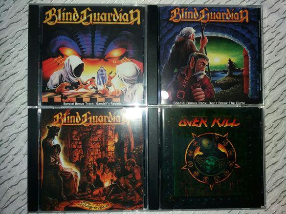 Оригинални и матрични CD-та Metallica, Slayer, Anthrax, Stratovarius