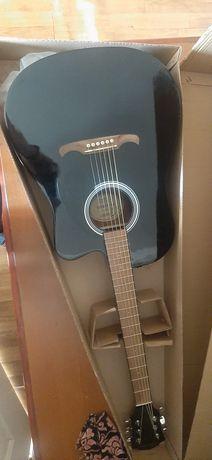Акустическая гитара Fender FA-125CE Walnut Fingerboard Black