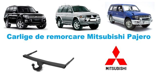 Carlige de remorcare omologate RAR Mitsubishi Pajero - 5 ani garantie