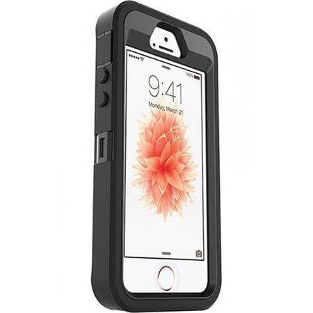Carcasa iPhone 5/5S/SE Negru/Pink/Verde