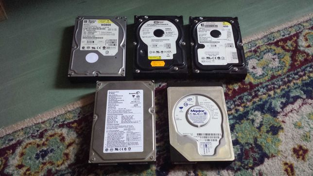 Hard diskuri hdd 30,40,80 Gb