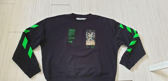 OFF - WHITE Pascal Painting Sweatshirt Mens Size 2XL НОВО! ОРИГИНАЛ!