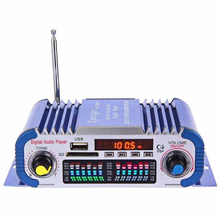 Statie stereo HY601 Hi-Fi 12V Suport Radio USB MP3 SD RMS 2 x 20W Bucuresti - imagine 1