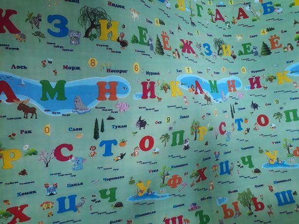 Детский термоковрик развиваюший коврик для игры. KASPI RED и РАССРОЧКА