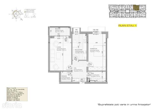 Apartament lux, central, 2 camere, str.Mihai Viteazu