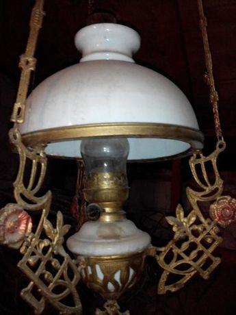Candelabru vechi - lampa cu gaz