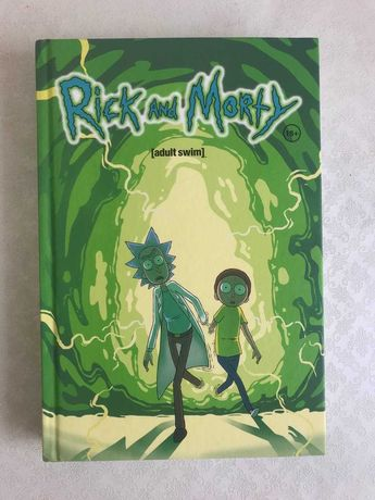 "Книга- комикс ""Рик и Морти"""