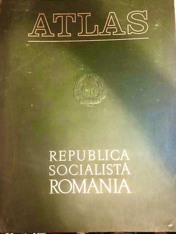 Atlas R.S.R. - editie 1975 - piesă de colecție