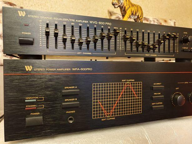 High end amplifier. Wangine WPA 600 Pro+EQ(pre) Wangine WVQ 600 Pro !