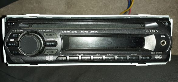 CD MP3 Sony cdx gt 212 за кола