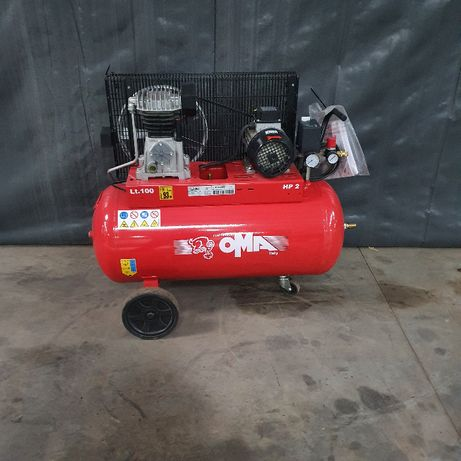 Compresor 100L Oma CT2/ PAT 24/100 MEC 80