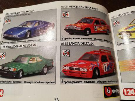 Catalog burago anii 90
