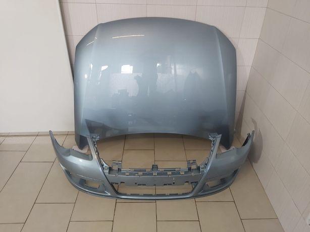 Pachet Capota Motor+Bara Fata VW Passat B6 05-11 (LB5M (Albastru))