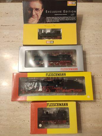 Lot 3 locomotive scara HO digitale FLEISCHMANN și BRAWA stare excelent
