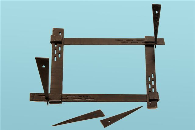 Cravate pentru stalp, montant , schela metalica