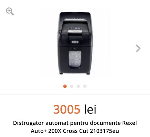 Distrugator automat documente