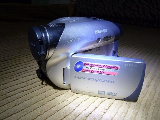 Camera video Sony DCR-DVD 105E