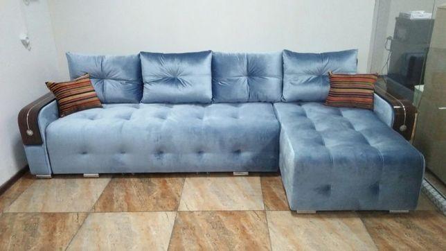 Раскладной угловой диван LUXURY  от собственного производство