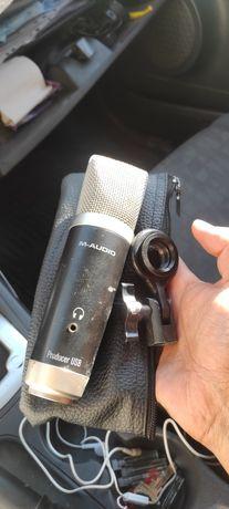 Продам USB студийный микрофон M-Audio