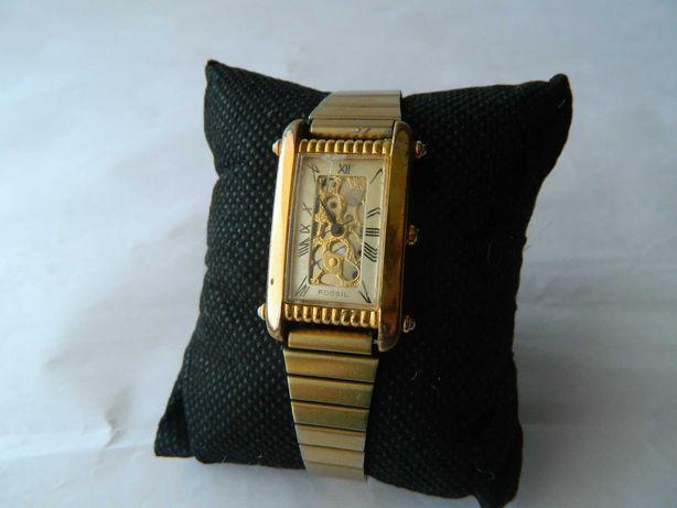 Ceas de dama vintage Fossil ,placaj auriu cod f14