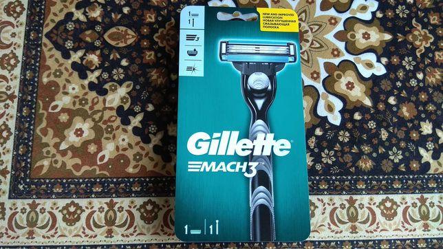 Бритвенный станок Gillette Mach 3 с 1 сменной кассетой Оригинал