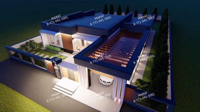 Эскизный/Рабочий проекты для частных домов и сооружений