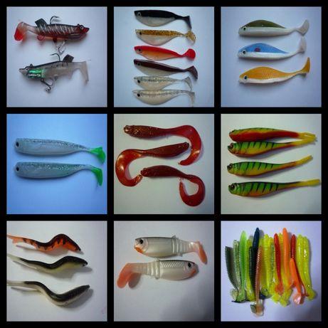 Воблери и силиконови риболовни примамки