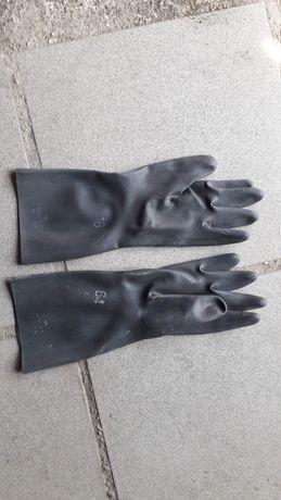 Резиновые перчатки хим. Защиты