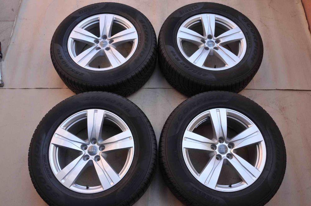 Roti Iarna 18 inch Originale Audi Q7 4M Pirelli 255/60 R18 Bucuresti - imagine 1