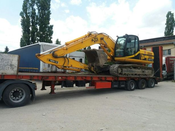 Inchiriere trailer , transport agabaritic utilaje tractoare combine