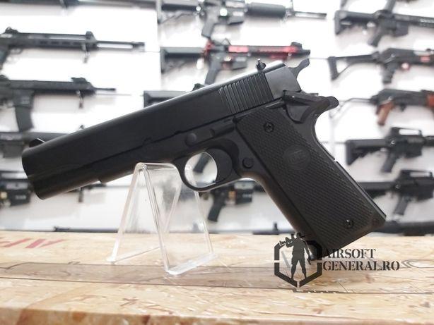 Cel mai ieftin Pistol Airsoft Colt 1911 + Bile Cadou Pachet Complet