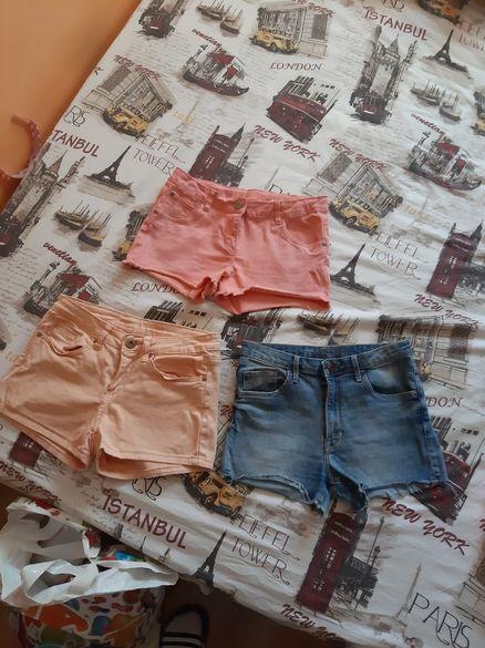 Къси дънки-панталони,блузки