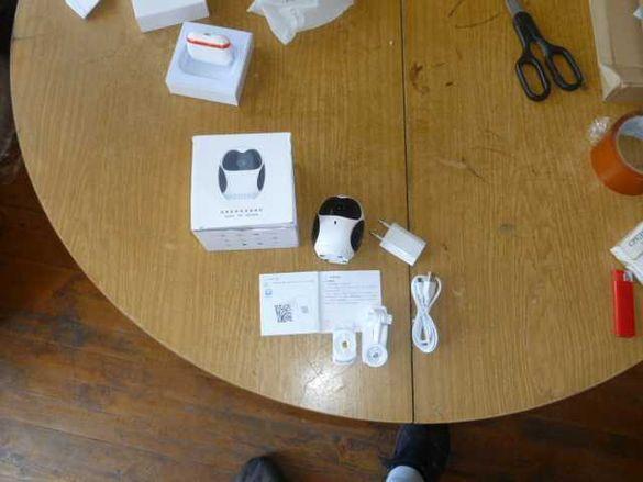 продавам смарт камера за видионаблюдение и блуто слушалки 3д съраунд