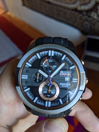 Часы casio edifice red bull edition