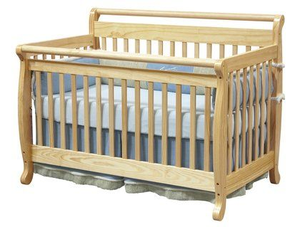 Шикарная деревянная кровать. 0 - 4 лет. Пр-во Америка.+пост.белье