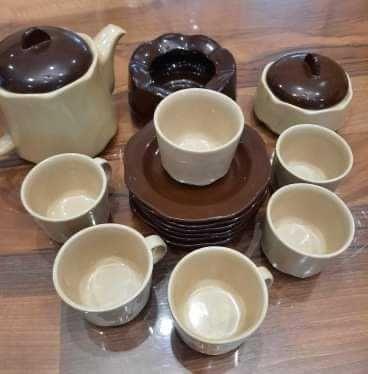 Ретро порцеланов сервиз  за кафе