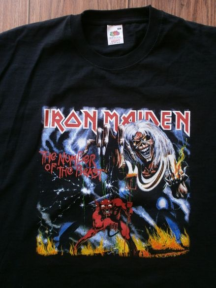 XL Тениска Iron Maiden